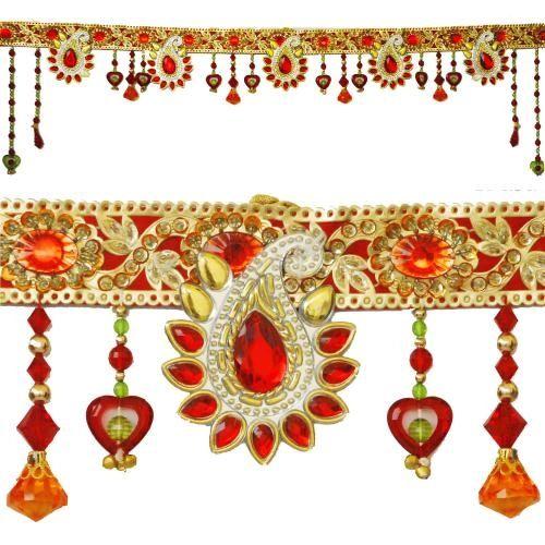 Paisley Glass Toran : Door Hangings / Bandhanwar,Indian Gifts Portal