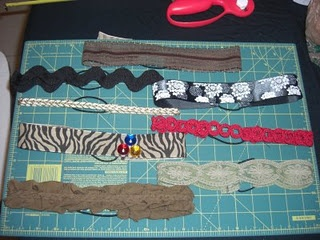 different styles of homemade headbands