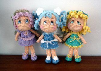 Fairy doll gratis patroon engels