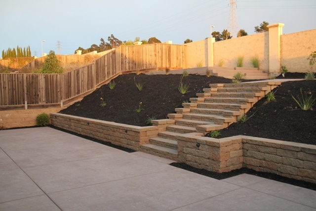 Swimming pool retainer wall | San Francisco Bay Area #1 Retaining Wall Contractor | Flickr - Photo ...