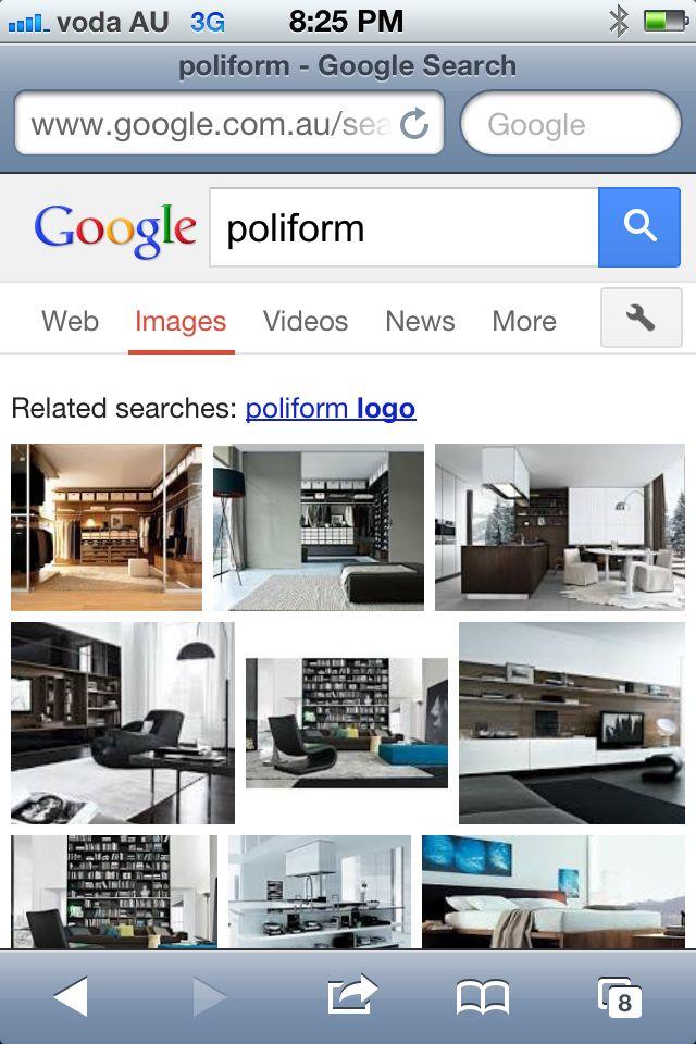 Google poliform & go to images