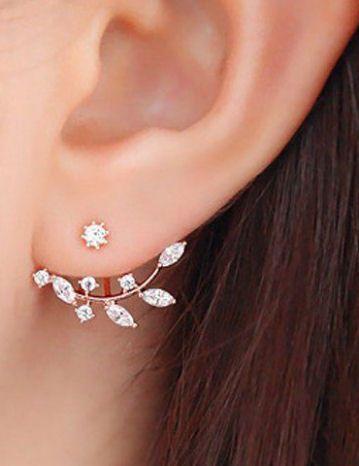 little leaf earrings ❤︎