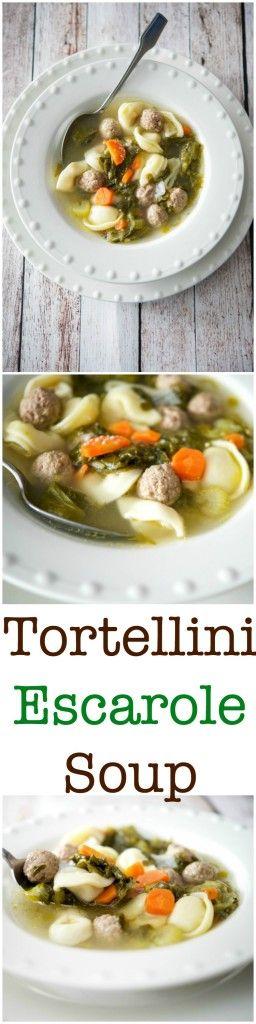 Tortellini Escarole Soup SoupEscarole RecipesWedding SoupBest Italian