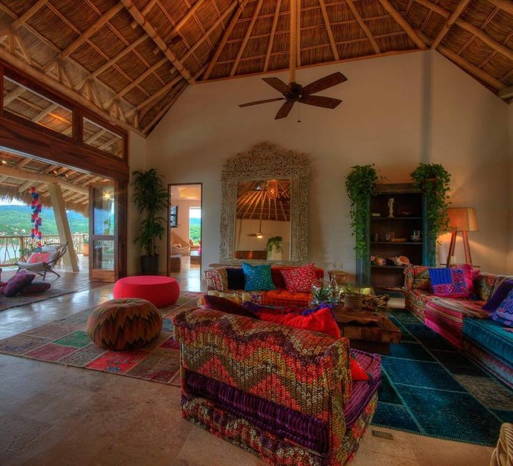 Casa Pura Vida in Sayulita is a gorgeous custom home which combines a fabulous chic lifestyle with breathtaking views and all the creature comforts.  | TripWix Sayulita Luxury Rentals