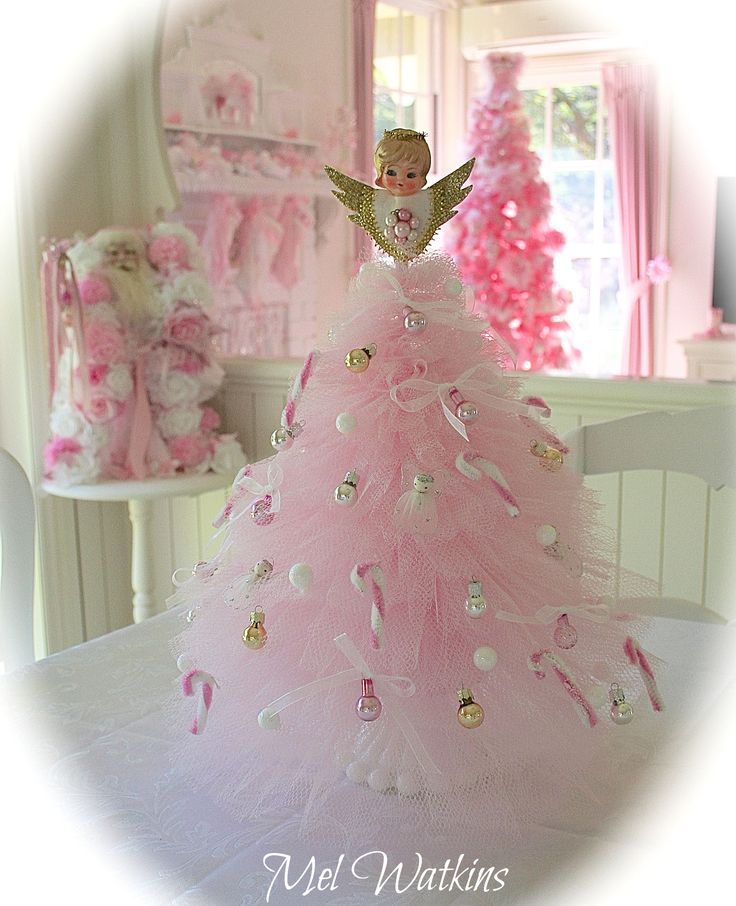 105 best Tulle christmas tree images on Pinterest | Tulle ...
