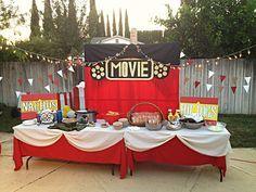 Movie Night party ideas