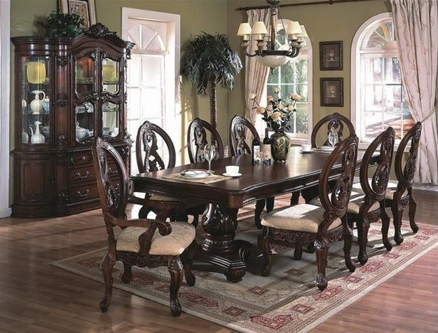 22 best images about dining room on pinterest cherries for Complete dining room sets