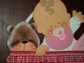 Cartel en goma eva o foami, ideal para la llegada de un bebé o baby shower.