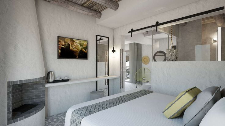 Helios Executive Suite - Bedroom, Elakati Luxury Boutique Hotel, Rhodes , Greece