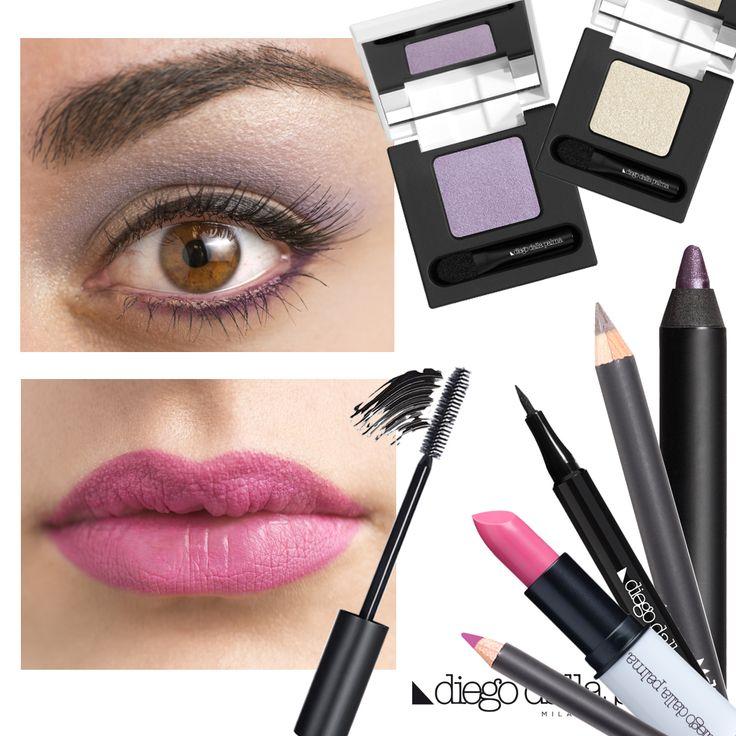 Purple barbie make up by diego dalla palma milano #diegodallapalma #makeup #motd #eyes #lips #pinklips
