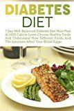 Diabetes Diet: 7 Day Well-Balanced Diabetes Diet Meal Plan At 1600 Calorie Level-Choose Healthy Foods And Understand How Different Foods And The  Type 2 Diabetes Low Carb Diabetic Recipes)