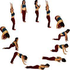 17 best ideas about Sonnengruss on Pinterest   Yoga sonnengruß ...