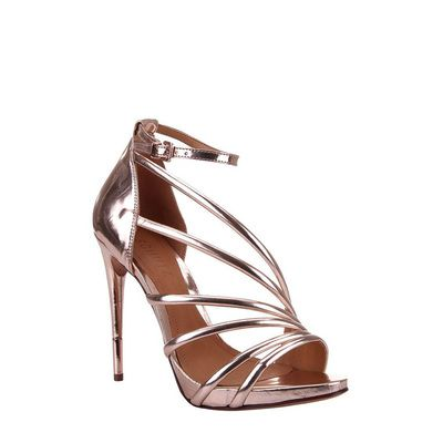 These heeled sandals have just the right amount of design without overdoing it.
