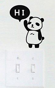 Ζώα Αυτοκολλητα ΤΟΙΧΟΥ Αεροπλάνα Αυτοκόλλητα Τοίχου , PVC 15*10*1