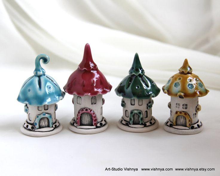 Houses of tiny fairies - 39 by vavaleff.deviantart.com on @DeviantArt