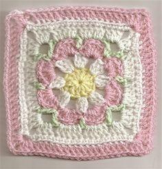 Vovó padrão de crochet livre. / Granny free crochet pattern.