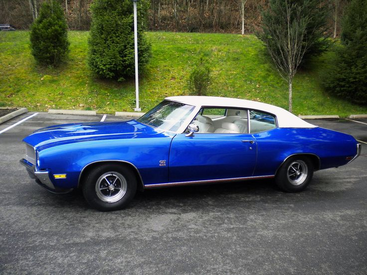 Exceptional 1970 Buick GS Stage 1. Classic Sports CarsClassic ...