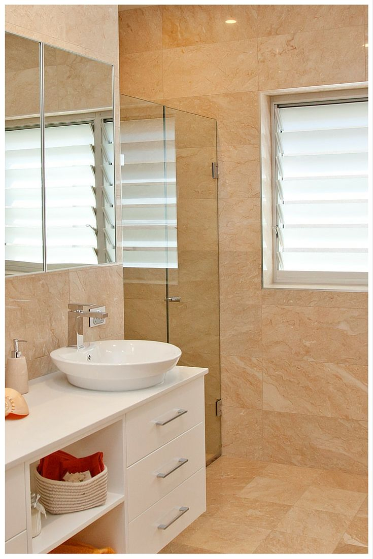 Wideline Louvre Windows With Privacy Glass Are Perfect For Bathrooms.  Www.wideline.com