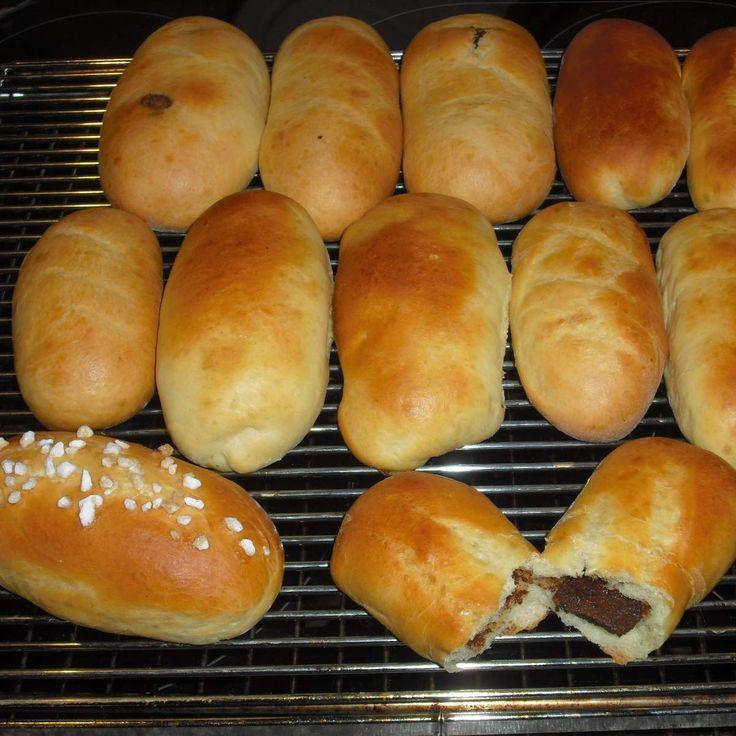 KINDER-SCHOKOLADEN-Brötchen   – Brot