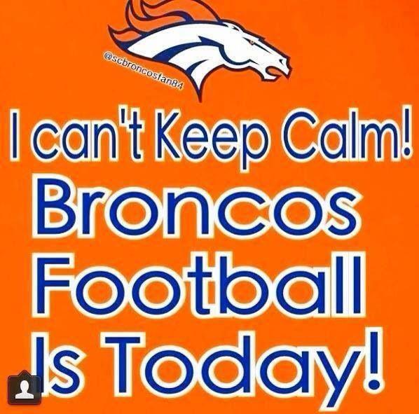 Broncos Football Today!
