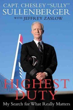 Sully, based on Highest Duty by Chesley Sullenberger, and starring Tom Hanks, releases September 9.
