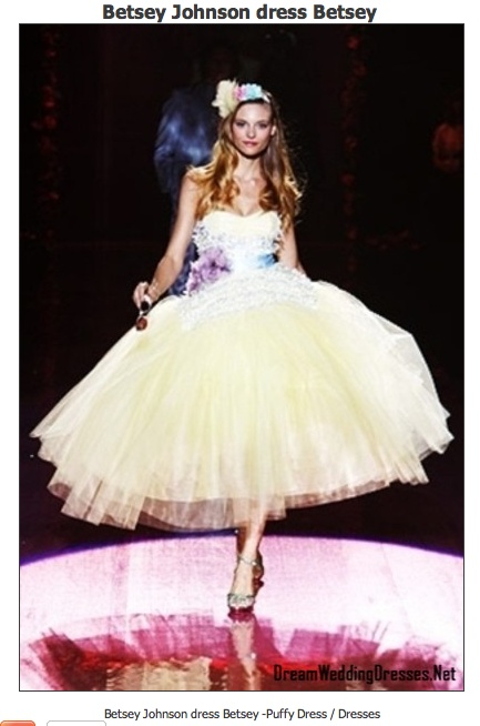 Betsey Johnson Wedding Dresses Fashion Dresses