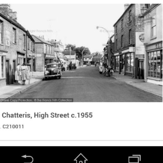Chatteris high st c 1955