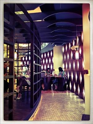 Remboelan cafe at Plaza Senayan Jakarta