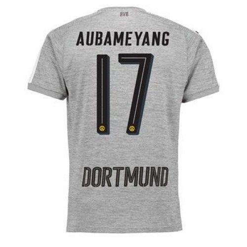 Dortmund Aubameyang 17 Koszulka Trzecich 2017-2018