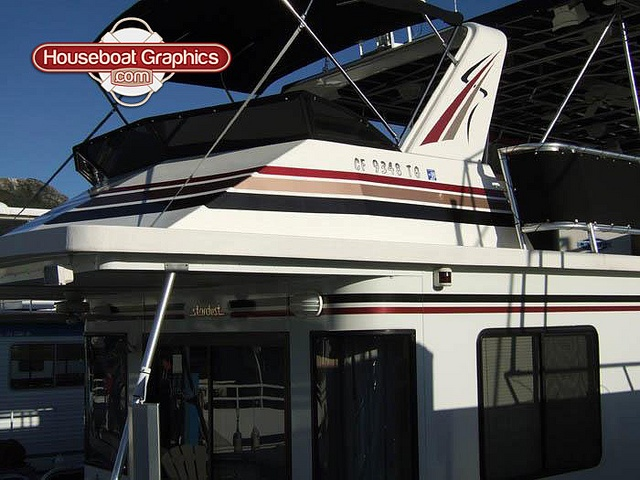 Best Boat Or Houseboat Decal Names Images On Pinterest - Houseboats vinyl numbers