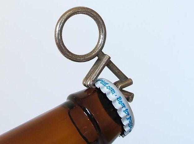 Beerhead Bottle Opener 3d printed Beerhead