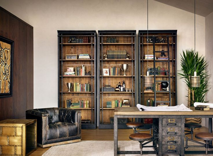 restoration hardware home office. how to create the true gentlemanu0027s bachelor pad restoration hardware home office r