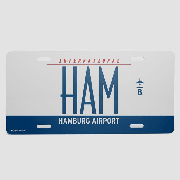 HAM - License Plate