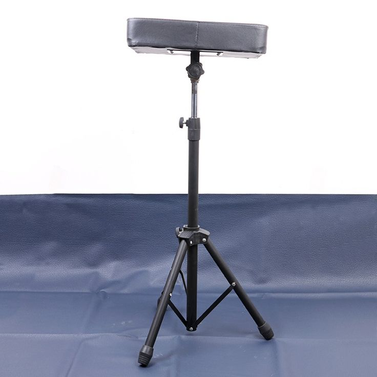 Tattoo Arm Rest Holder Stand Tripod Portable Adjustable Height Stainless Steel High Quality Steady Tattoo Armrest Stand