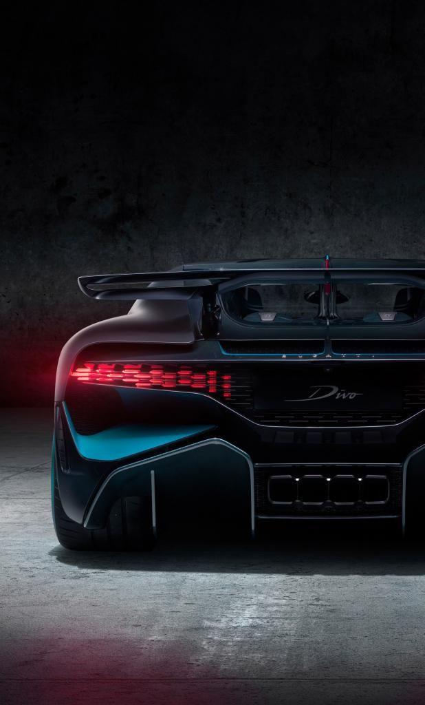 Wallpaper For Iphone X Bugatti Divo 2018 Rear Yn 12802120 4k Hd