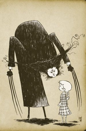 Anyone else want to see an X-men movie in Edward Gorey style??
