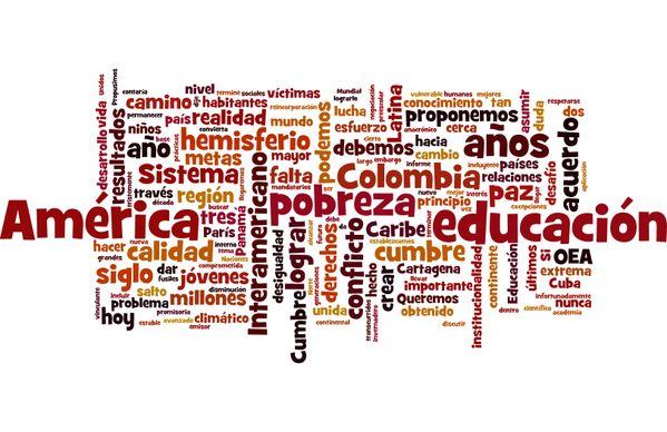 TagCloud Discurso de Juan Manuel Santos (Presidente de Colombia) en la VII Cumbre de las Américas (Panamá,2015) - Enlace permanente de imagen incrustada
