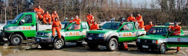 """La squadra AIB di #Nebbiuno  """"I Lupi del Vergante"""", sempre pronta all'azione"""