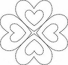 embroidery.....quilting template.