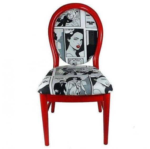Pop art chair