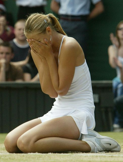 remember this…? Maria Sharapova winning Wimbledon at the tender age of 17. I really hope, more than anything, that this day comes around again. A true competitor and a real champion.