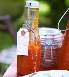 Tomaten-Mango-Ketchup - Rezepte - [LIVING AT HOME]