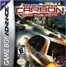 Need For Speed Carbon Own The City - Game Boy Advance Game