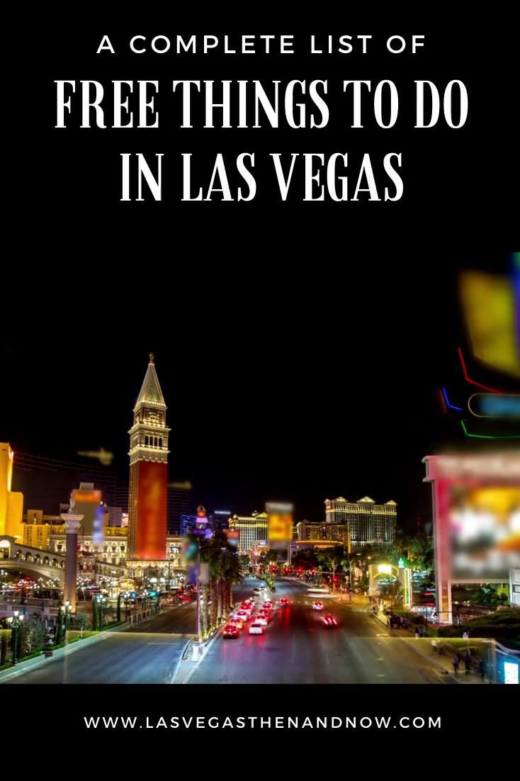 Free Activities And Things To Do In Vegas Video Las Vegas Free Las Vegas Las Vegas Photos