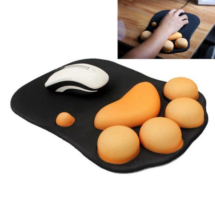 Cute cat claw style creative thickened silicone gaming