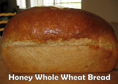 Honey Whole Wheat Bread (makes 3 loaves) | Food & Drink | Pinterest