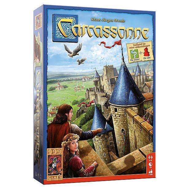 999 Games 999-CAR01N Carcassonne? Bestel nu bij wehkamp.nl