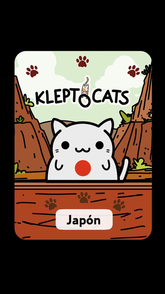 #KleptoCats Aquí está mi nuevo amigo #iOS www.kleptocats.com/share #caturday