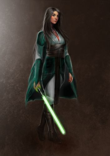 if I were a Jedi this is how id dress!!!! <3  Jedi Consular