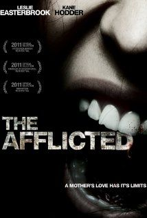 The Afflicted (2010)  85 min  -  Horror | Thriller A story of incomprehensible abuse delivered by an explosively violent mother of four. Journey through the mind of a child that experiences a living hell, defined and defended by the twisted religious beliefs of her mother.    Director:  Jason Stoddard  Stars:  Leslie Easterbrook, Kane Hodder and J.D. Hart - VERY DISTURBING - Easterbrook is brilliant! Based on a true story, it will stick with me for a long time...